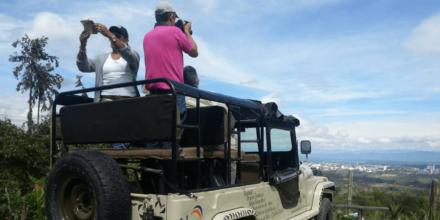 jeep panoramico cordillera de los andes
